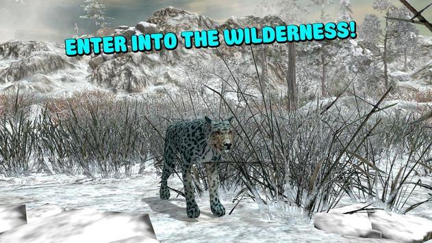 Wild Snow Leopard Simulator 3D screenshot 11