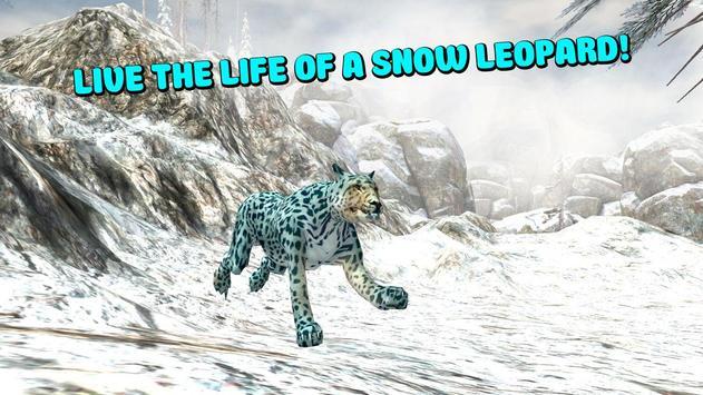 Wild Snow Leopard Simulator 3D screenshot 4