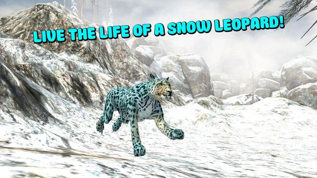 Wild Snow Leopard Simulator 3D screenshot 8