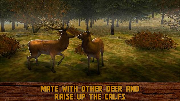 Wild Deer Survival 3D apk screenshot