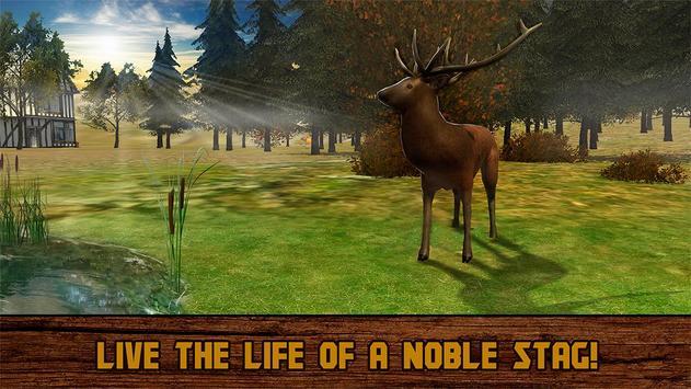 Wild Deer Survival 3D poster