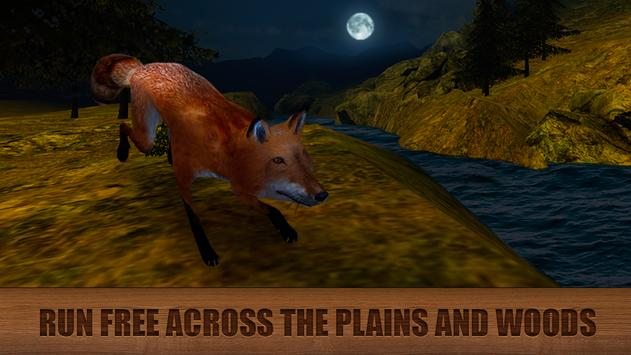 Wild Fox Survival Simulator 3D screenshot 1