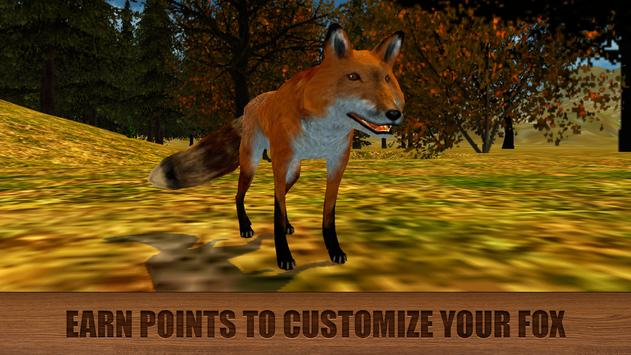 Wild Fox Survival Simulator 3D screenshot 3