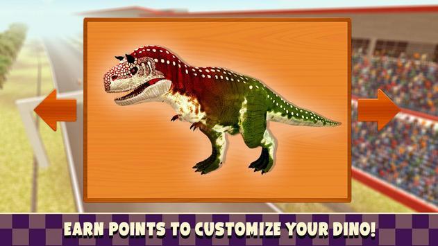 Jurassic Dinosaur T-Rex Race apk screenshot