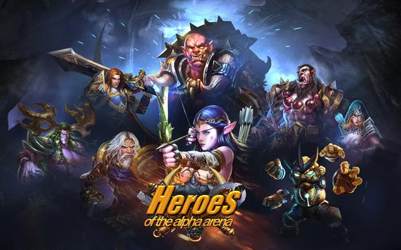 Heroes of the Alpha Arena poster