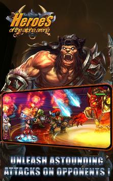 Heroes of the Alpha Arena apk screenshot