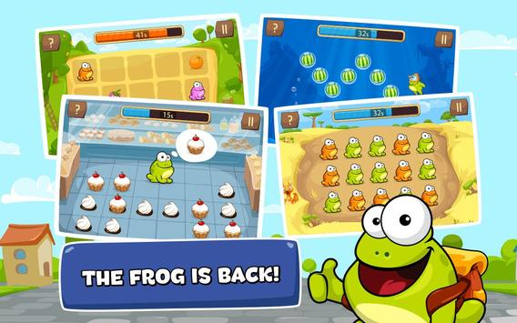 Tap the Frog Faster apk screenshot