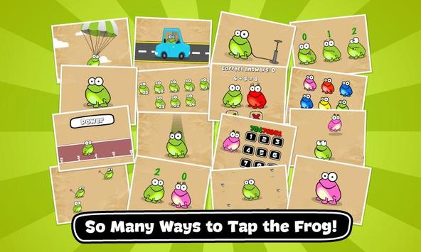 Tap the Frog: Doodle الملصق
