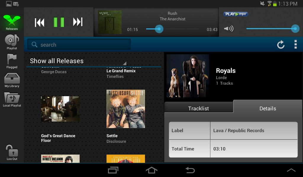 Play MPE® Player - Tablet for Android - APK Download