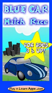 Cars For Toddlers- Blue Car poster