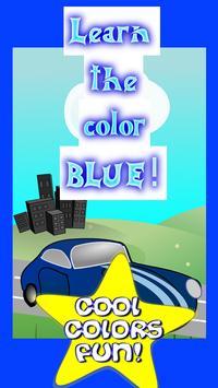 Cars For Toddlers- Blue Car screenshot 2