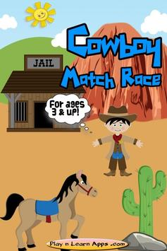 Cowboy Game For Kids poster