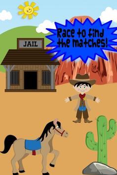 Cowboy Game For Kids apk screenshot