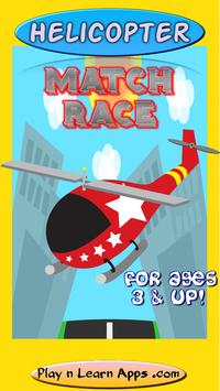 Helicopter Game For Kids: Free poster