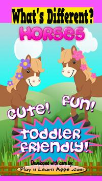 Horse Game For Toddlers Free poster