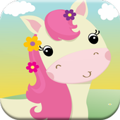 Horse Kids Game Match Race icon