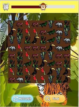 Jungle Kids Game- Real Animals apk screenshot