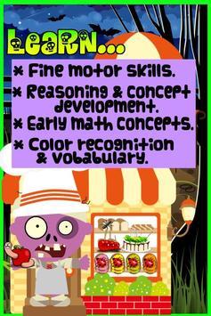 Zombie Game for Kids screenshot 2
