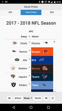 NFL Playoff Predictors screenshot 1