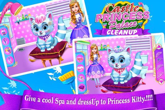 Castle Princess Palace Room Cleanup-Girls Games apk screenshot