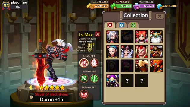 Champions Of War - COW apk screenshot