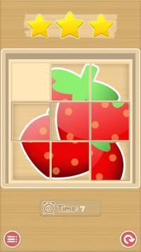 Sliding Puzzle - Fruits screenshot 3