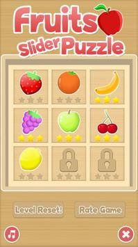 Sliding Puzzle - Fruits poster