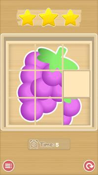 Sliding Puzzle - Fruits screenshot 2