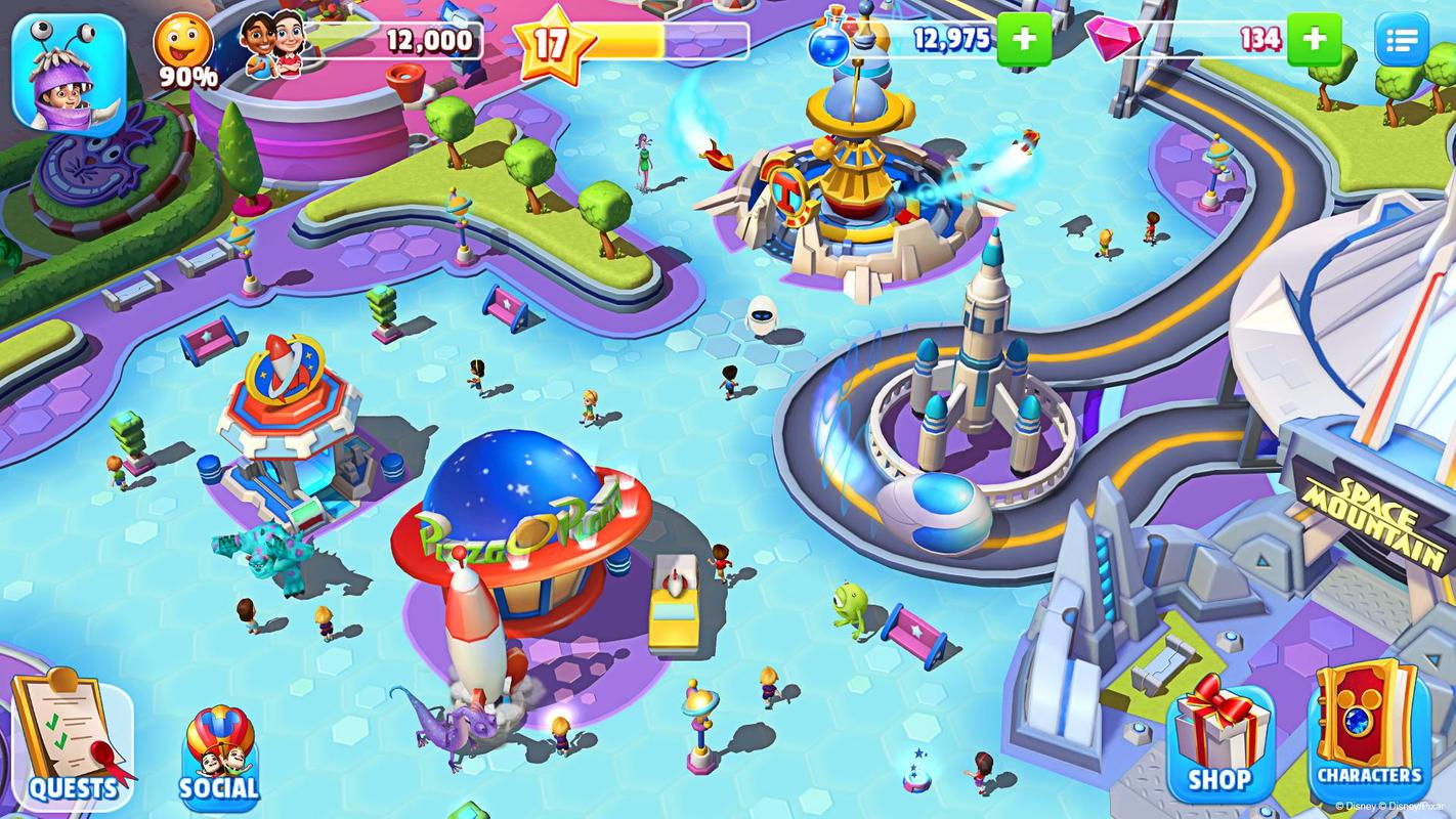 Disney Magic Kingdoms For Android Apk Download