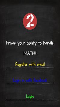 Challenge Me | Online MathQuiz poster