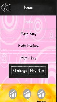 Challenge Me | Online MathQuiz screenshot 1