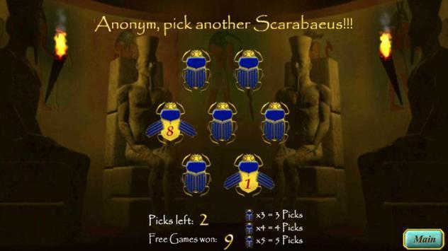 ST Scarabaeus Scatter FREE apk screenshot