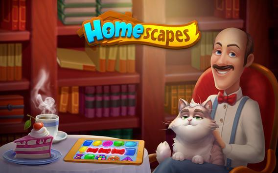 Homescapes apk zrzut ekranu