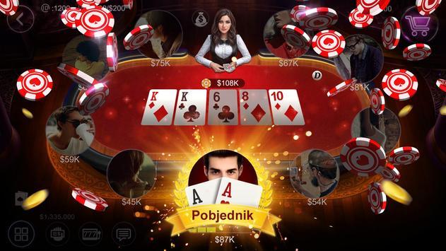 Balkan Hold'em HD - Besplatan Texas&slotovi&karte poster