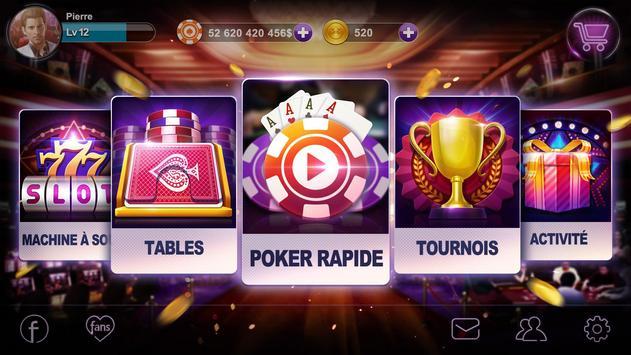 Poker France apk screenshot