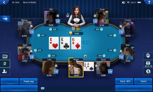 Poker Norge HD screenshot 1