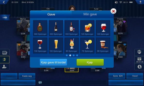 Poker Norge HD screenshot 2