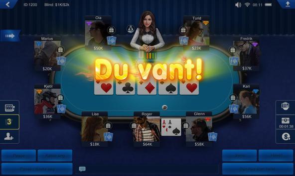 Poker Norge HD screenshot 4