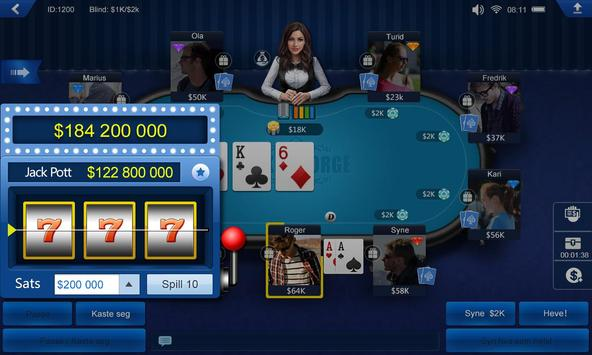 Poker Norge HD apk screenshot