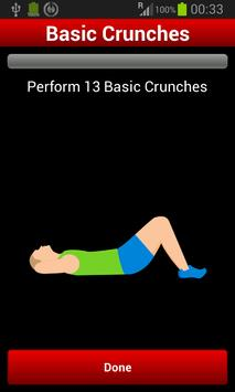 30 Day Abs Workout Challenge screenshot 1