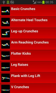 30 Day Abs Workout Challenge screenshot 3