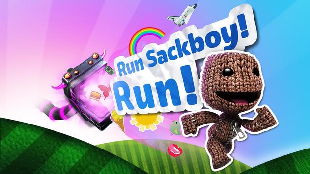Run Sackboy! Run! الملصق