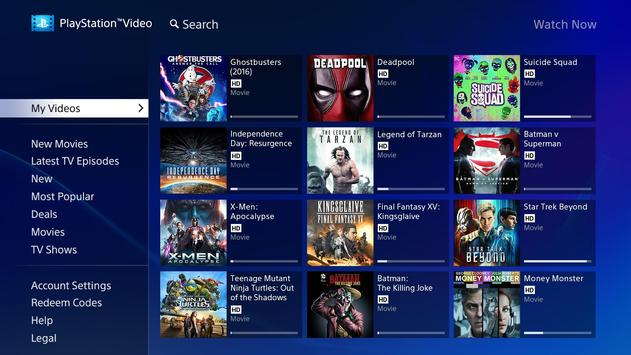 PlayStation™Video Android TV poster