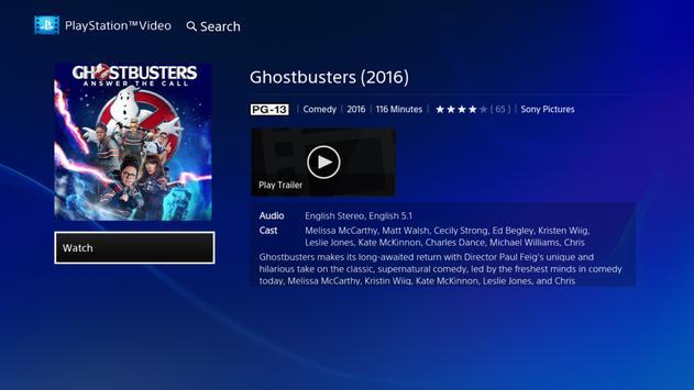 PlayStation™Video Android TV screenshot 1