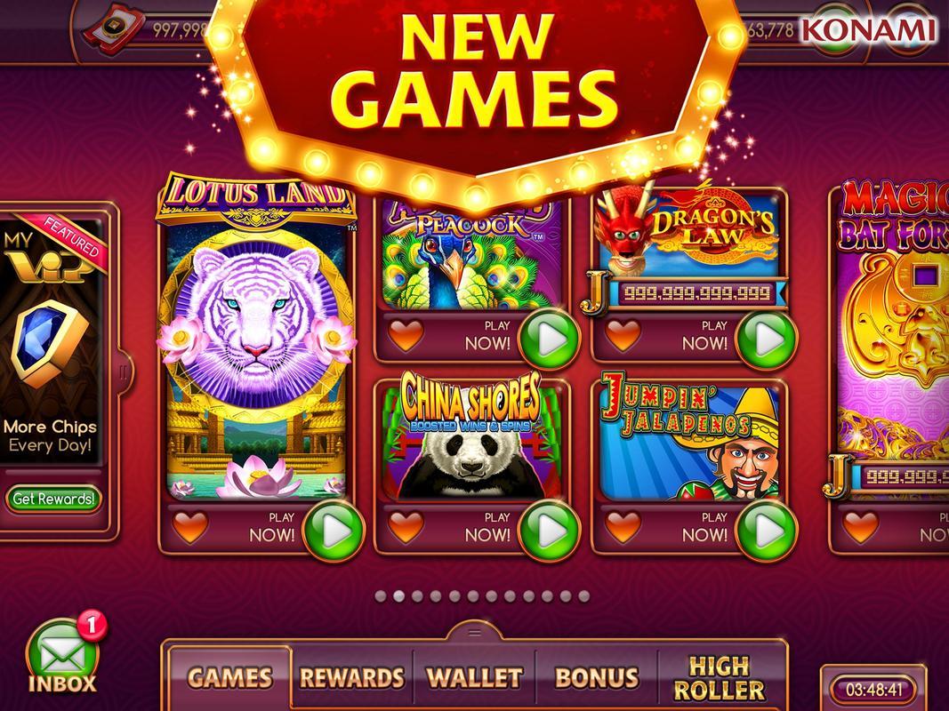Konami Casino Games