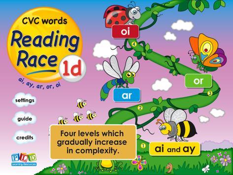 Reading Race 1d: ar, ai LITE screenshot 7