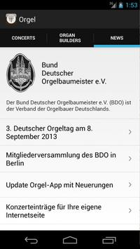 Orgel apk screenshot