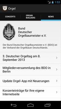Orgel apk screenshot