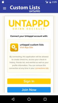 Custom List powered by UNTAPPD poster