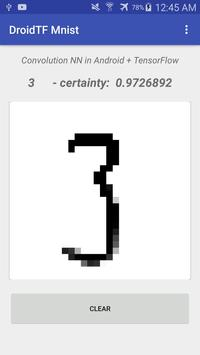 DroidTF Mnist screenshot 3